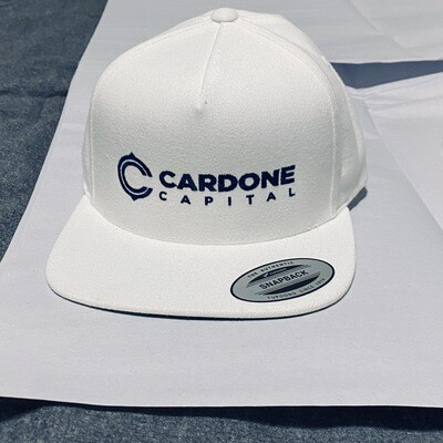 CARDONE CAPITAL WHITE SNAPBACK BEST OFFER A#262