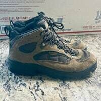 #222 Columbia Mens Size 10 Brown Boots