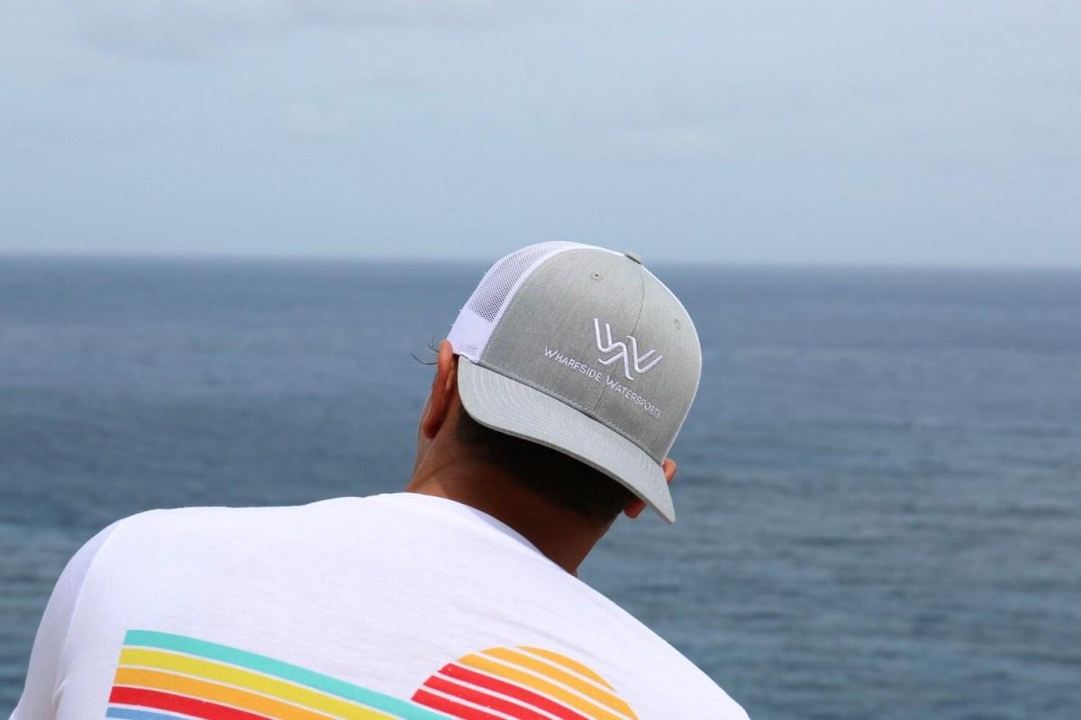 WW Logo Hat Grey/White