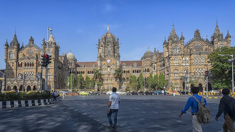 CST Station, Mumbai, India. 0479-2
