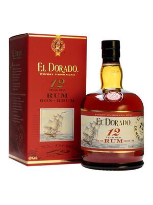El Dorado 12 Year 750ml