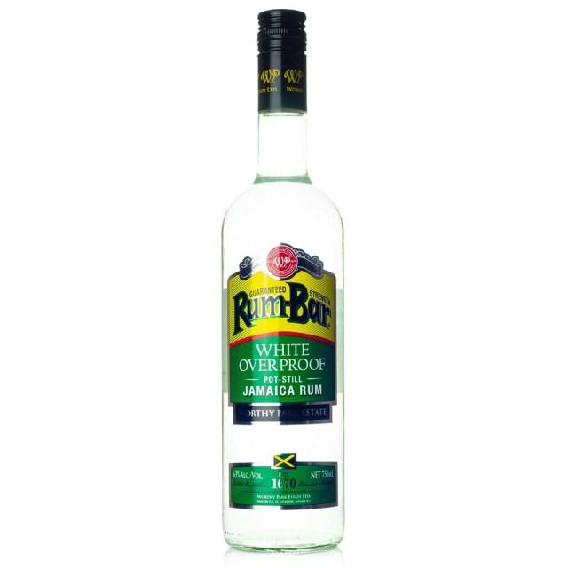 Rum Bar White Overproof 750ml