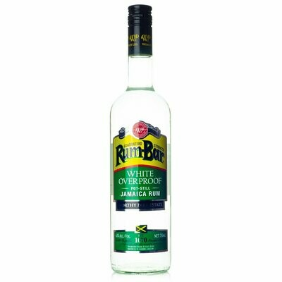 Rum Bar White Overproof 750ml