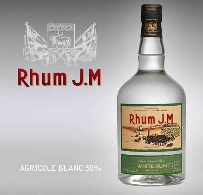 Rhum JM White 100 proof 750ml
