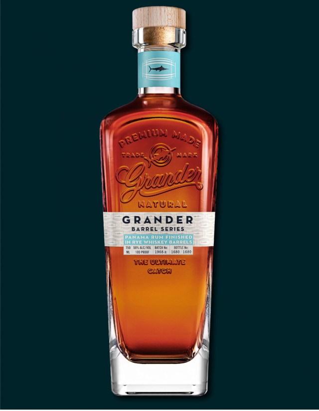 Grander Barrel Series: Rye Finished Rum Batch 750ml