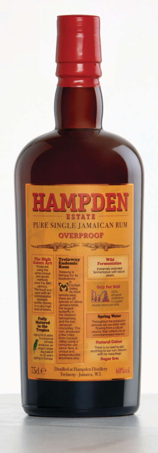 Hampden Estate Overproof 750ml