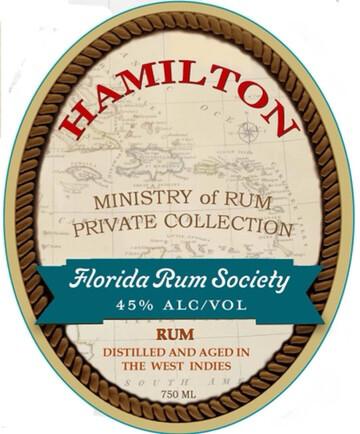 Hamilton Florida Rum Society Blend - 750mL