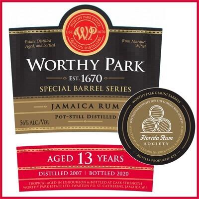 Worthy Park FRS Gemini Barrel - 13 Year WPM