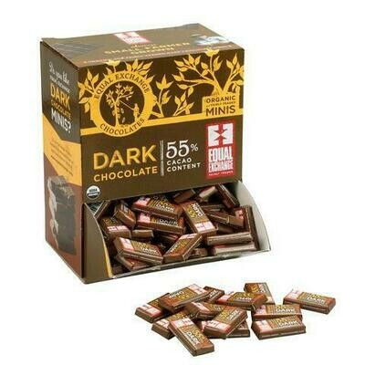 Equal Exchange Dark Chocolate Minis 3 for $1