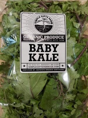 **SGF Bagged Baby Kale