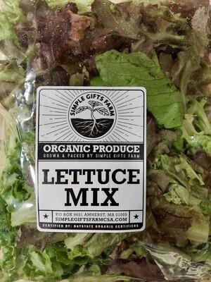 **SGF Bagged Lettuce Mix
