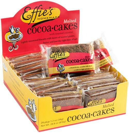 Effie's Malted Cocoacakes - Single Pack
