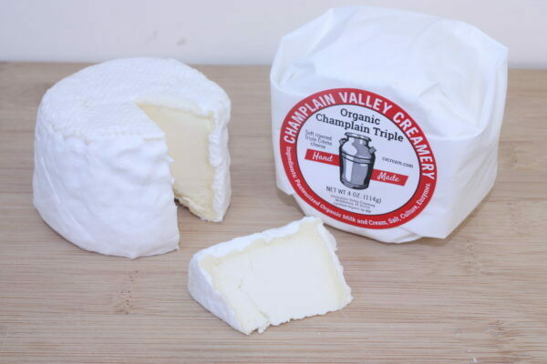 Champlain Valley Creamery Champlain Triple Creme Cheese 4 oz.