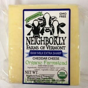 Neighborly Farms EXTRA SHARP CHEDDAR Raw
