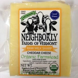 Neighborly Farms SHARP CHEDDAR RAW