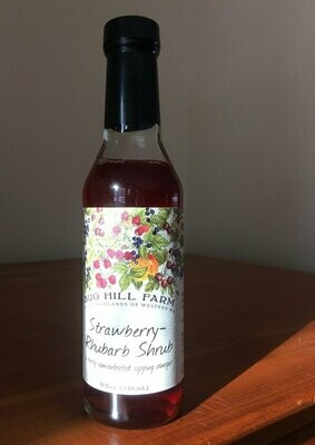 Bug Hill Farm STRAWBERRY RHUBARB Shrub