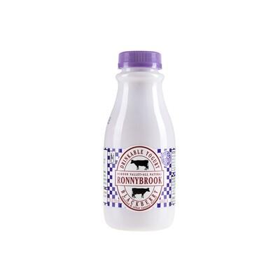 SALE! Ronnybrook Drinkable Yogurt 12 oz - Blackberry