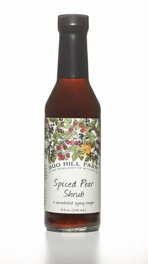Bug Hill Farm Shrub - Spiced Pear