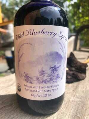 Benson Place Wild Blueberry Syrup 10 oz.