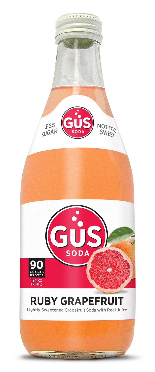 Gus Organic Soda - Ruby Grapefruit