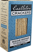Castleton Crackers Sesame Graham