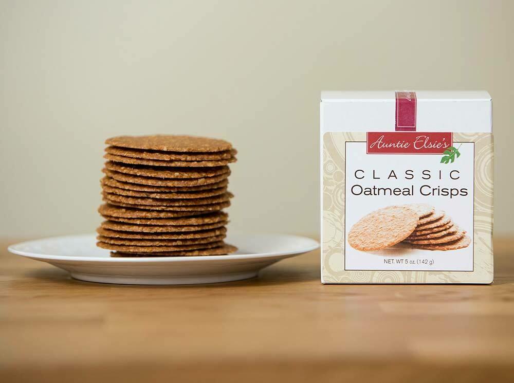 Auntie Elsie's Oatmeal Crisps - Classic