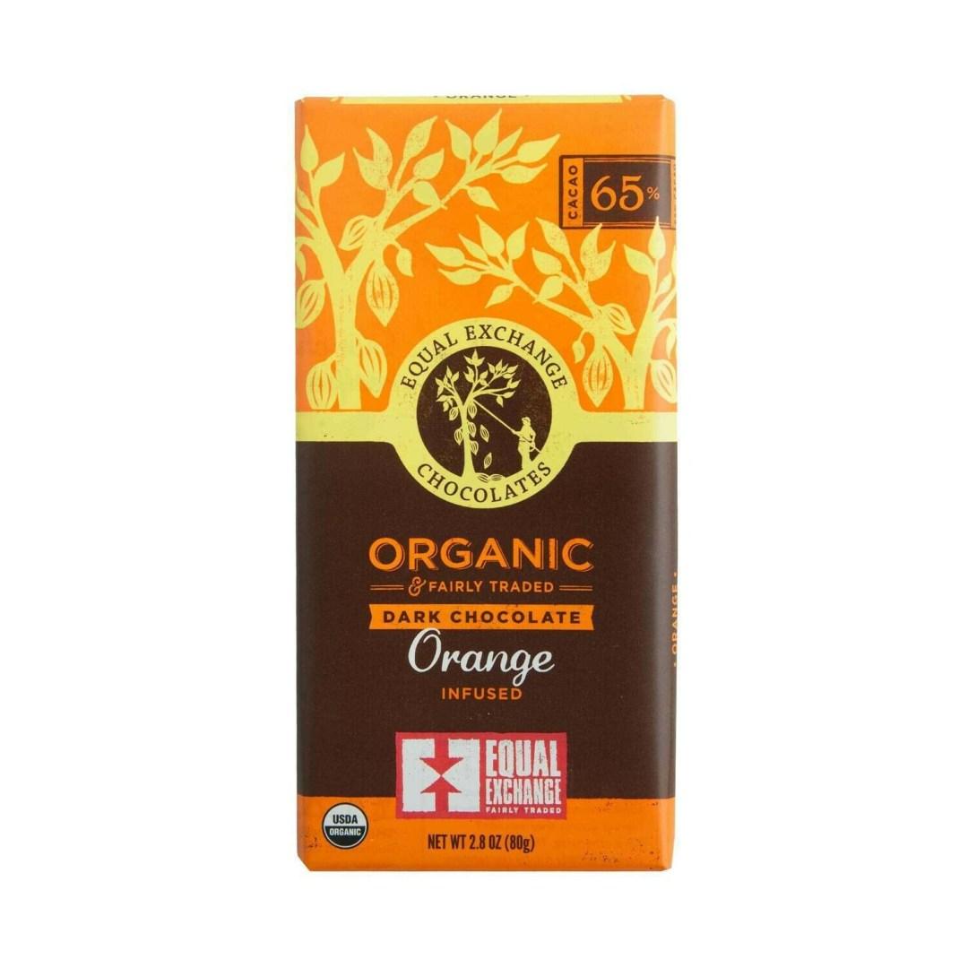 Equal Exchange Chocolate Bar - Dark Chocolate & Orange