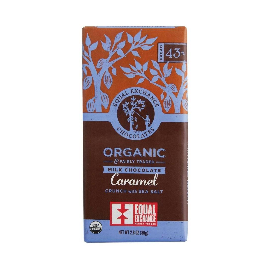 Equal Exchange Chocolate Bar - Milk Chocolate & Caramel
