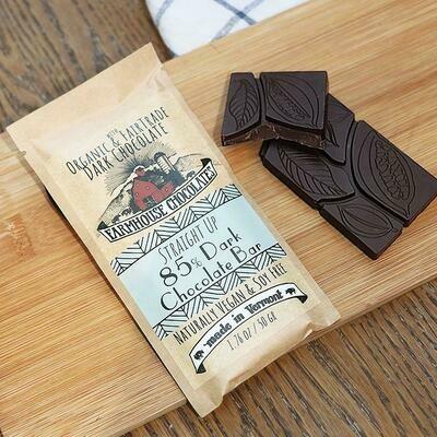 Farmhouse 85% Dark Chocolate Chocolate Bar