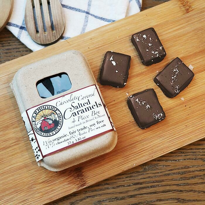 Farmhouse Salted Caramels