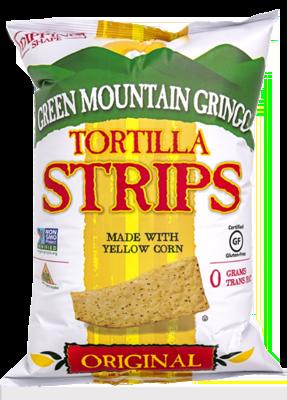 Green Mountain Tortilla Strips - Yellow Corn