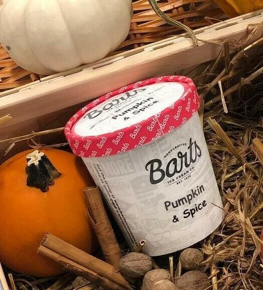Bart's Ice Cream - Pumpkin & Spice
