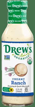 Drew's Organic Dressing - Creamy Ranch