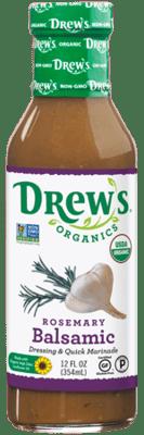Drew's Organic Dressing - Rosemary Balsalmic