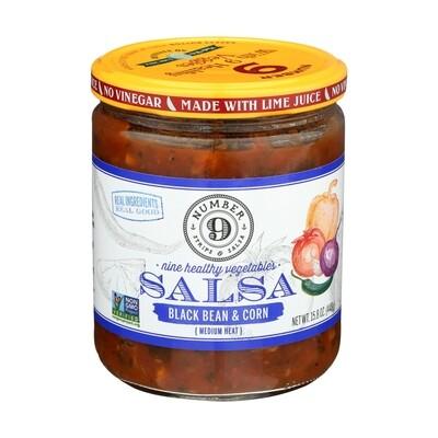 Number 9 Salsa - Black Bean and Corn