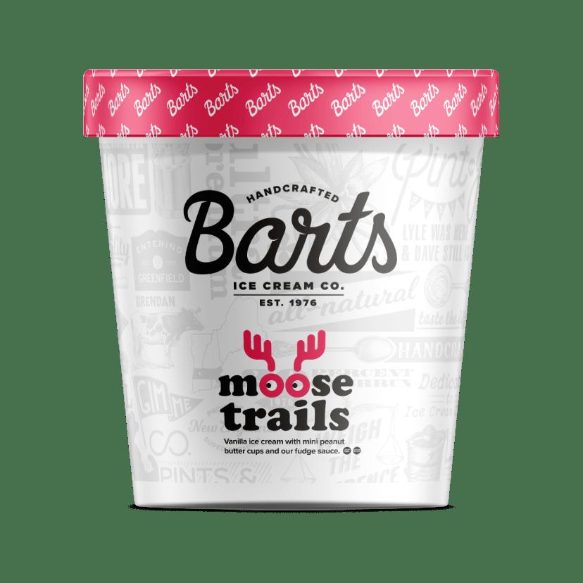 Bart's Ice Cream - Moose Trails