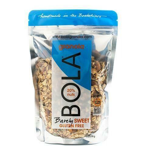 BOLA Granola GLUTEN FREE BARELY SWEET
