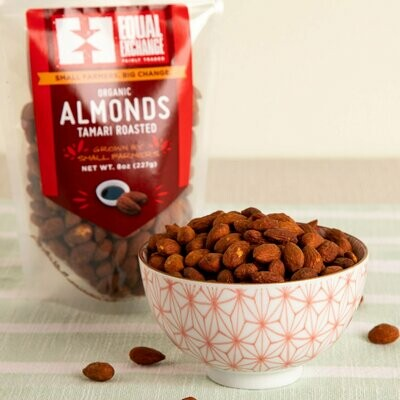 Equal Exchange Tamari Roasted Almonds