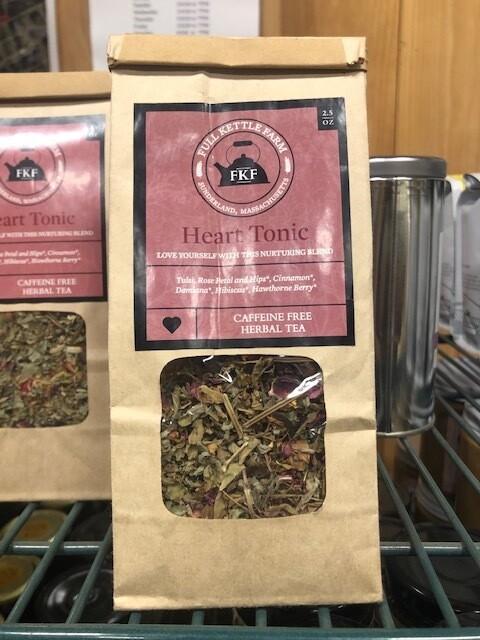 Full Kettle Loose Leaf Tea - Heart Tonic
