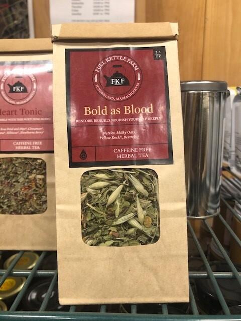 Full Kettle Loose Leaf Tea - Bold As Blood
