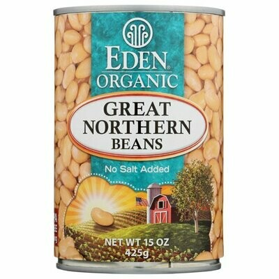 Eden Organic Great Northern Beans 15 oz. can