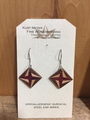 Kurt Meyer Wood Earrings
