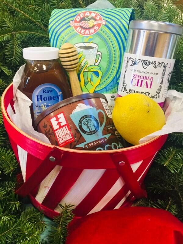 Cozy Tea-Time Gift Basket