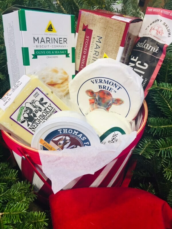 Holiday Charcuterie Basket