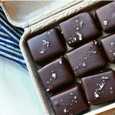 Farmhouse 9 pc. Chocolate Covered Salted Caramels