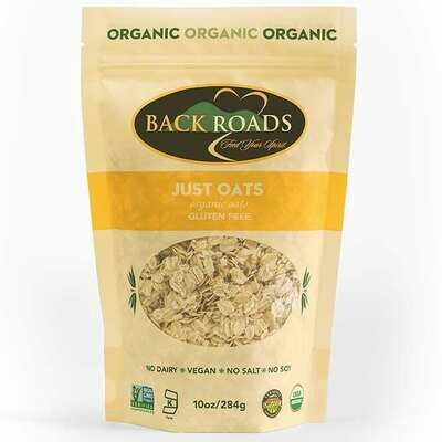 Back Roads Just Oats (Organic, GF, Vegan, Soy-Free) 2.75 lb