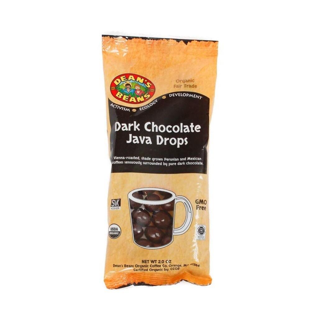 Dean's Beans Dark Chocolate Java Drops