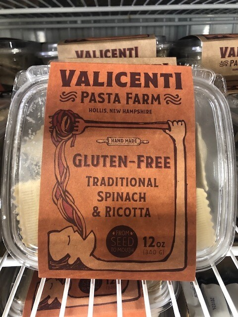 Valicenti Pasta Traditional Spinach and Ricotta (GF)