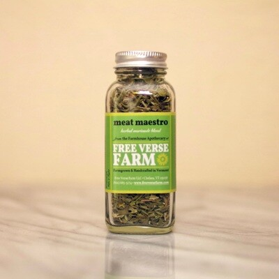 Free Verse Farm Dried Herb Blend - Meat Maestro 0.4 oz