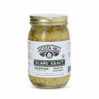 Hosta Hill Garlic Scape Kraut